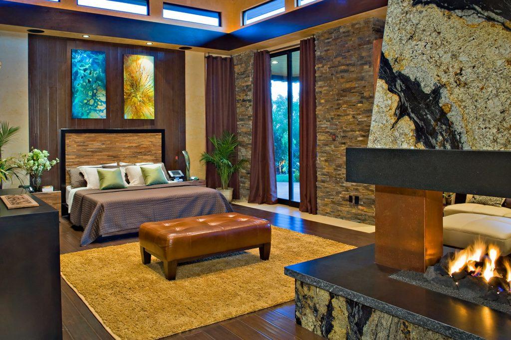 luxury custom home las vegas interior bedroom