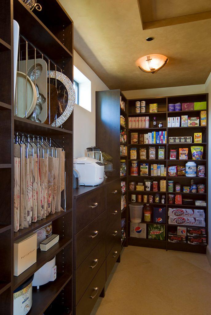 luxury custom home las vegas interior pantry