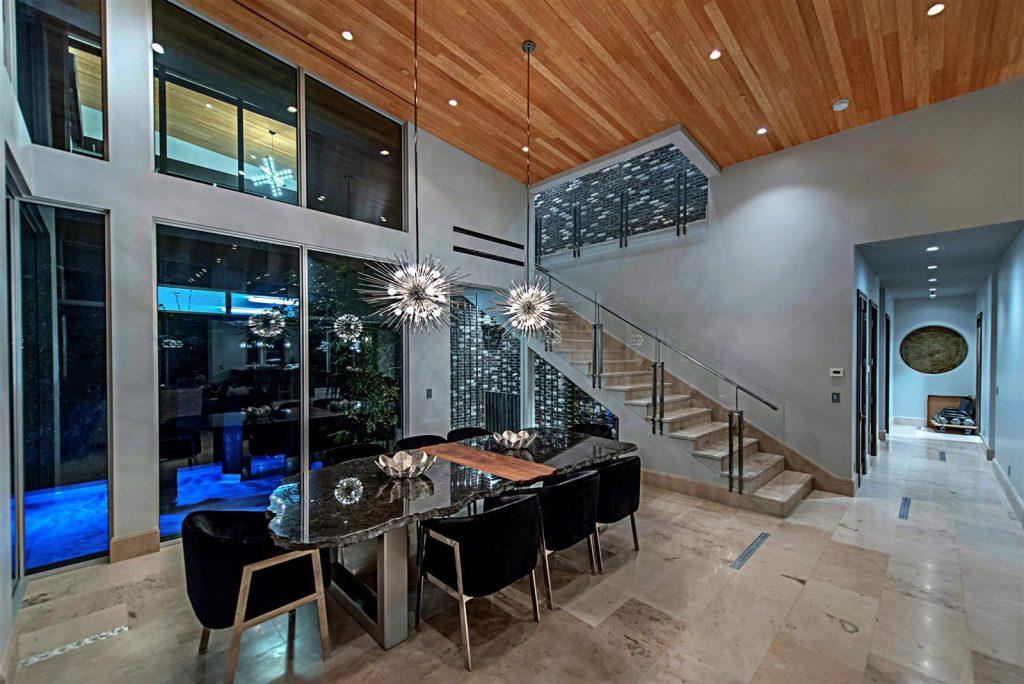 luxury custom home las vegas interior dining room