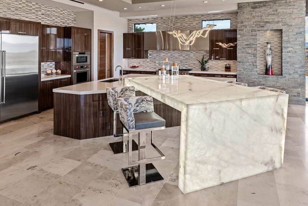custom home las vegas interior kitchen
