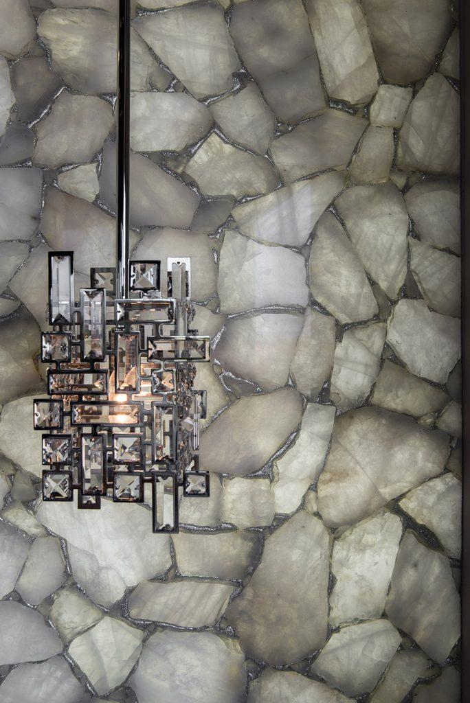 custom home las vegas interior light fixture