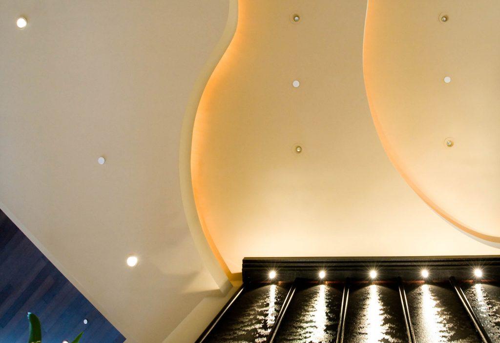 luxury custom home las vegas interior ceiling