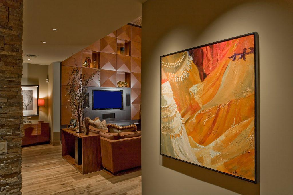 luxury custom home las vegas interior painting