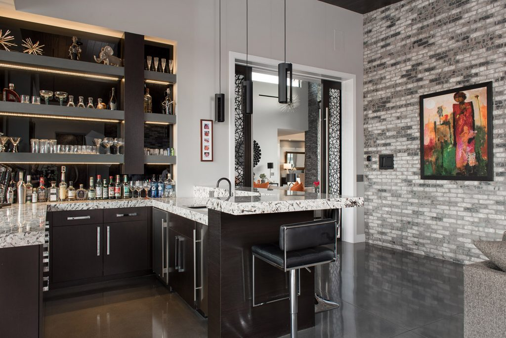 custom home las vegas interior great room
