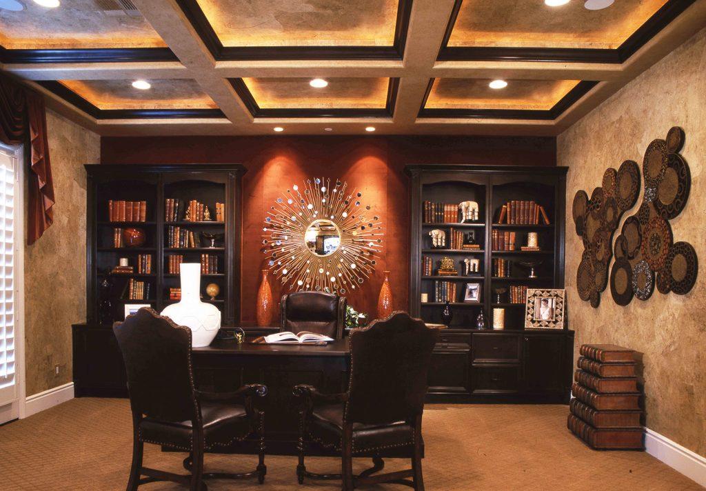 luxury custom home las vegas interior library