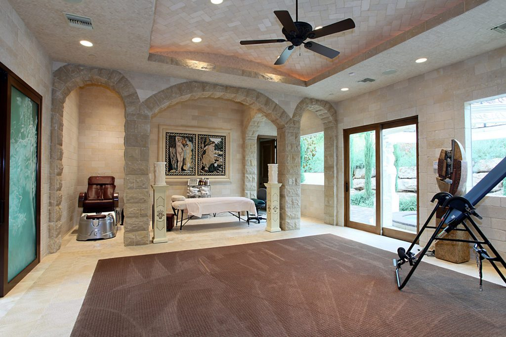 luxury custom home las vegas interior spa