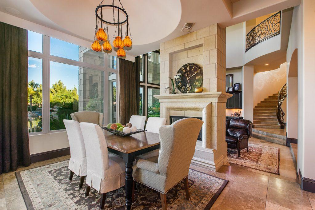 luxury custom home las vegas interior