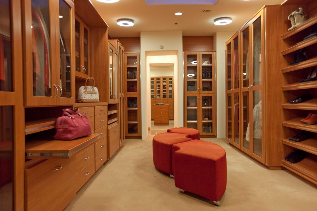 luxury custom home las vegas interior closet