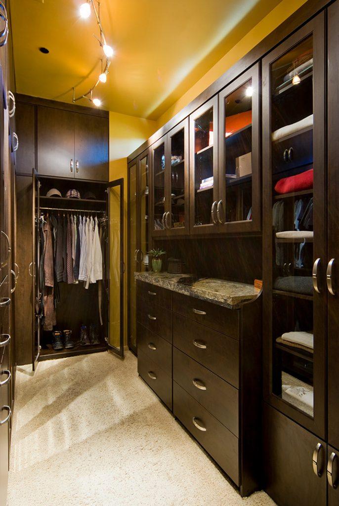 luxury custom home las vegas interior closet
