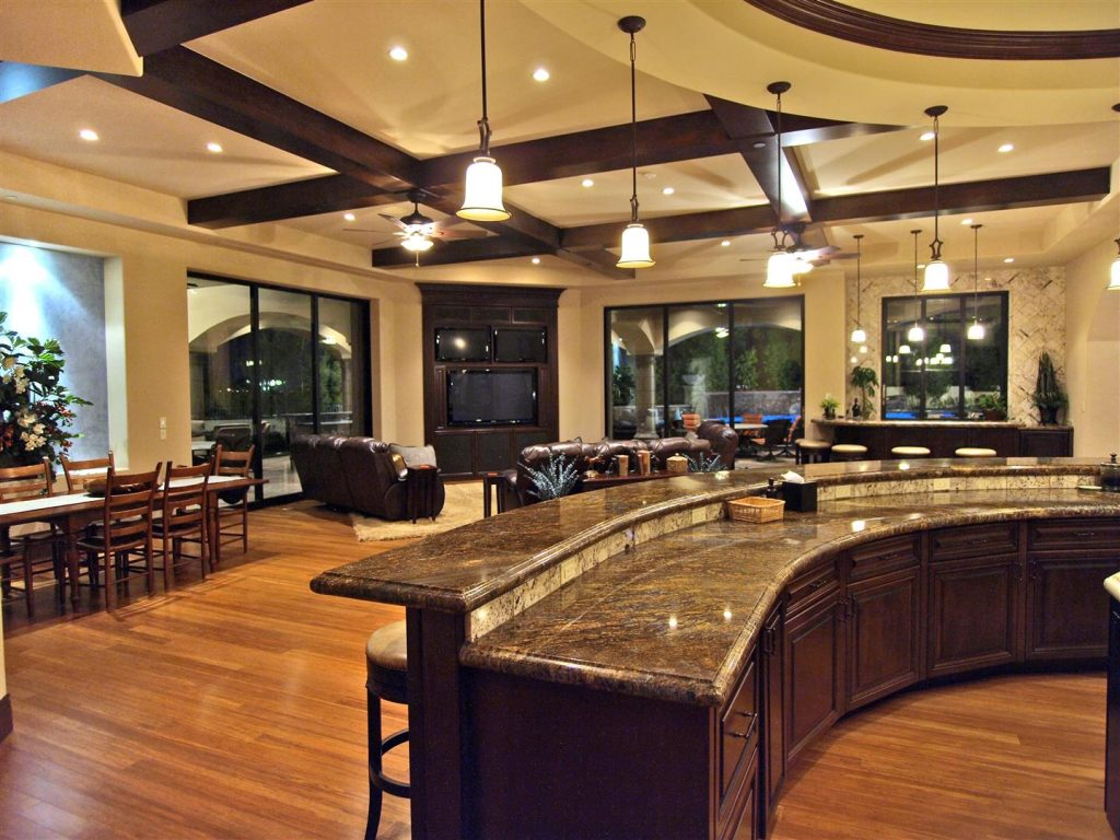 luxury custom home las vegas interior dining room