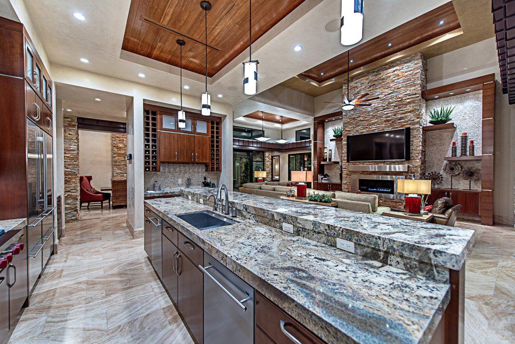 luxury custom home las vegas interior kitchen
