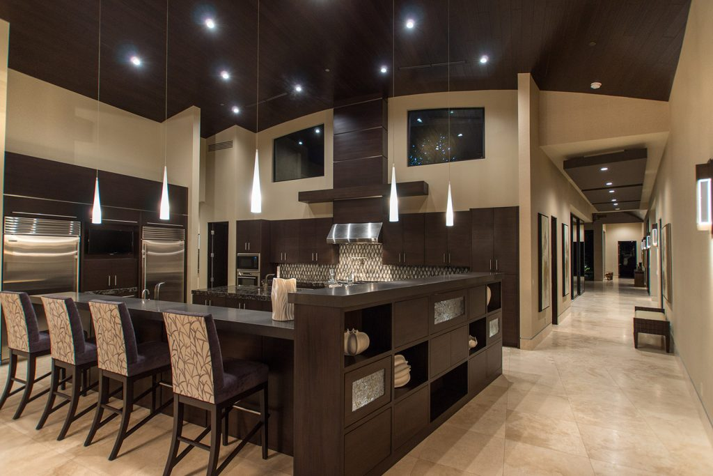 luxury custom home las vegas interior kitchen