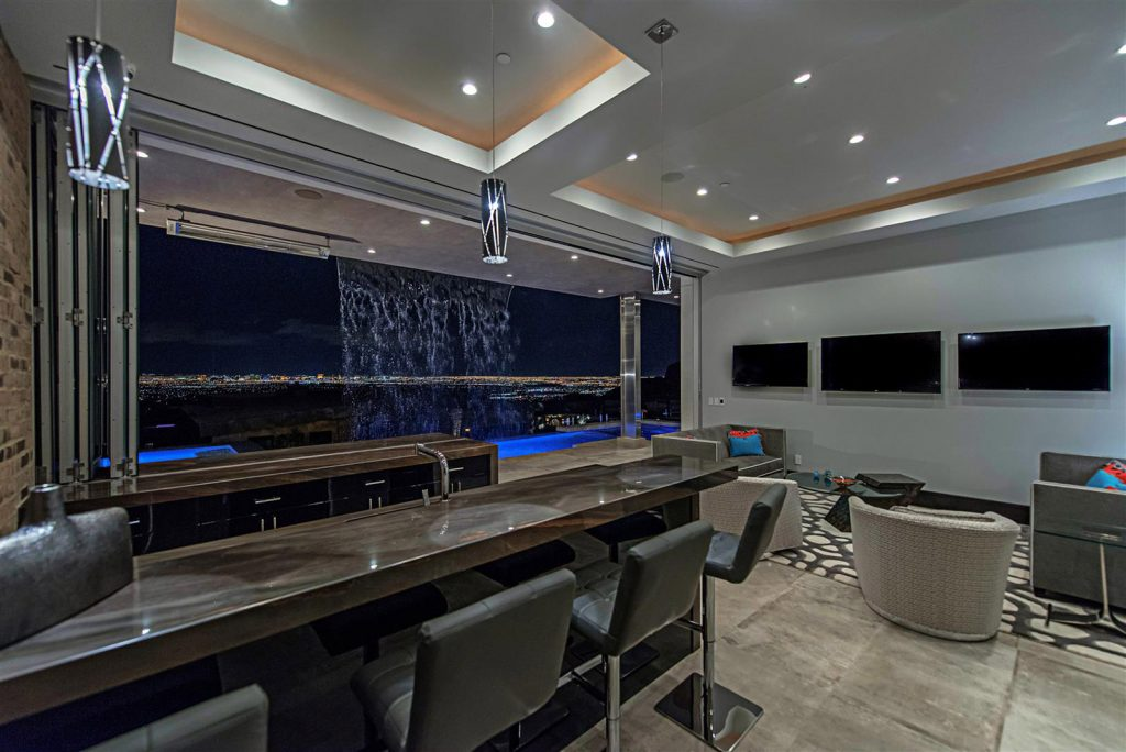 luxury custom home las vegas interior view