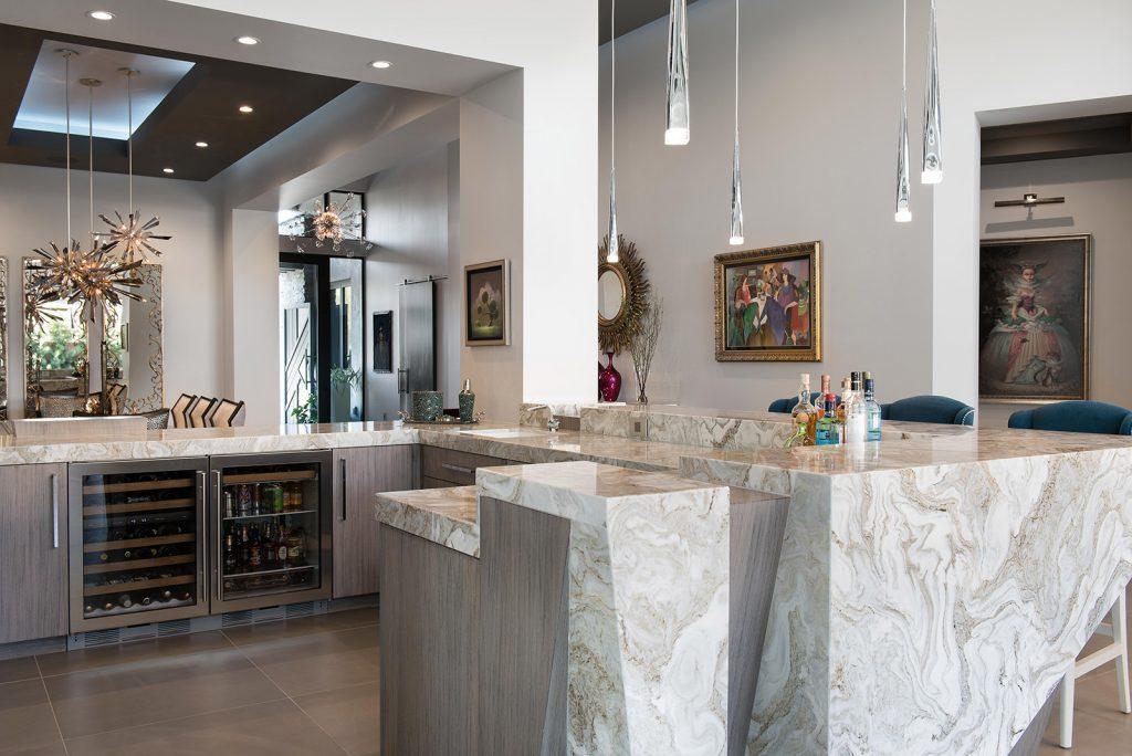 custom luxury las vegas home interior kitchen