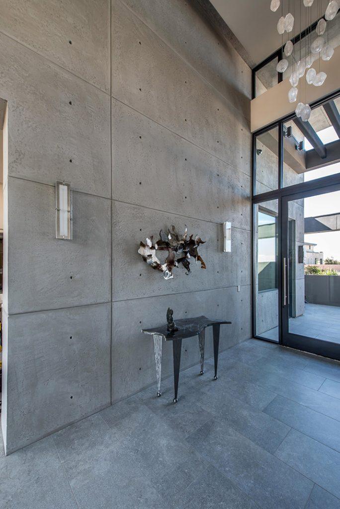luxury custom home las vegas interior entryway