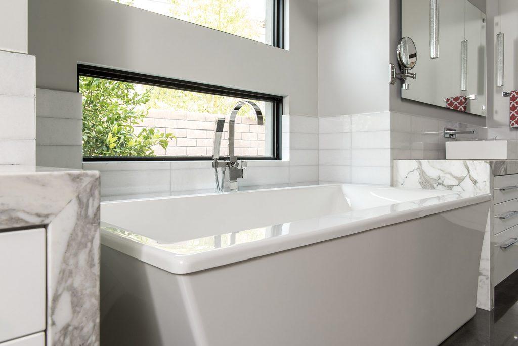 custom home las vegas interior master bathroom