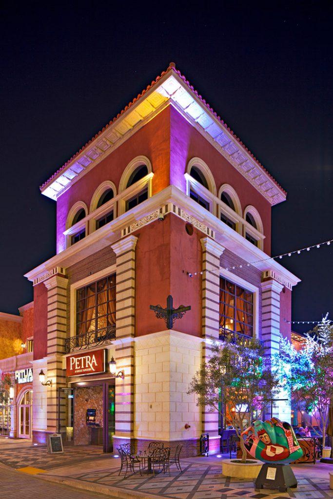 exterior architecture restaurant las vegas